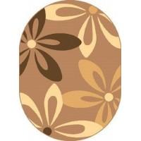 Dywan cocoa orzech 120x170cm owal