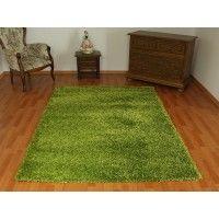 dywan shaggy zielony 200x290cm