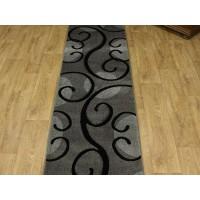 Chodnik dywanowy fryz nr 76 popiel 100cm