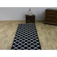 Chodnik dywanowy Weltom Welen efes czarny 70cm