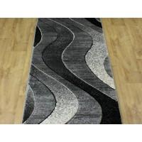 Chodnik dywanowy 80cm fryz nr 149 popiel