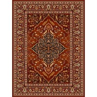 Dywan Agnella Isfahan Leyla rubin 160x240cm