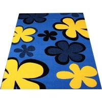 Dywan Weliro Werbena niebieski 400x500cm