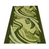 Chodnik antypoślizgowy fale zieleń 150cm