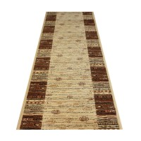 Chodnik dywanowy  AGNELLA ARNE BEŻ 67cm