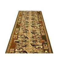 Chodnik dywanowy Weltom Welen nr 51 zieleń 100cm