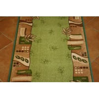 Chodnik antypoślizgowy paris zieleń 80cm
