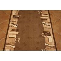 Chodnik antypoślizgowy paris brąz 100cm