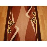 Chodnik antypoślizgowy rubin brąz 150cm