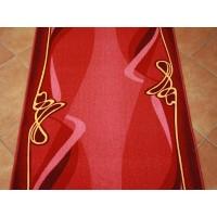 Chodnik antypoślizgowy rubin bordo 100cm