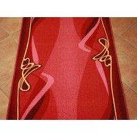 Chodnik antypoślizgowy rubin bordo 150cm