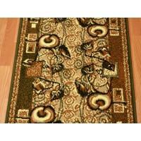 Chodnik dywanowy Weltom Welen nr 51 zieleń 70cm