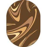 Dywan coffe brąz 160x220cm owal