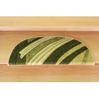 Nakładka na schody fale zieleń 65x24cm