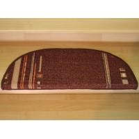 Nakładka  na schody pasy brąz 65x24cm
