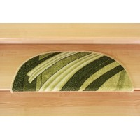 Nakładki na schody fale zieleń 77x24cm
