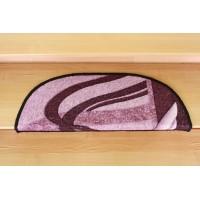 Nakładki na schody fale fiolet 77x24cm
