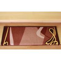Nakładki na schody rubin brąz 65x24cm