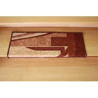 Nakładka na schody fale brąz 65x24cm
