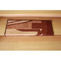 Nakładki na schody fale brąz 65x24cm