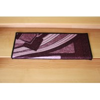 Nakładka na schody fale fiolet 65x24cm