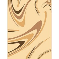 Dywan coffe krem 140x300cm